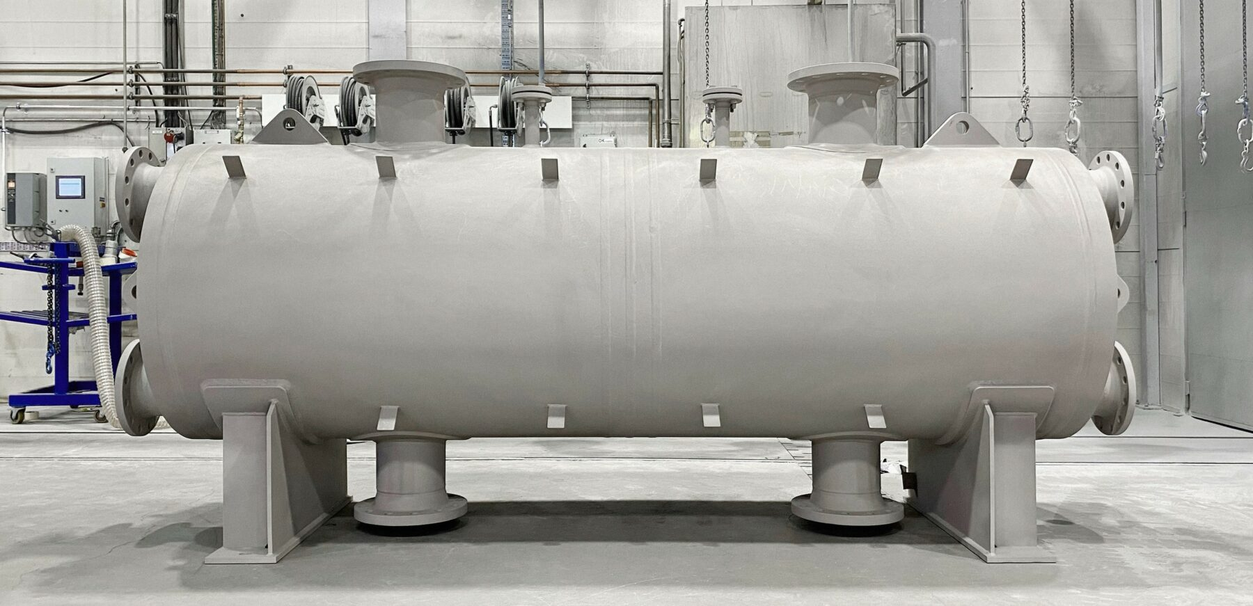 Heat exchangers for the chemical industry